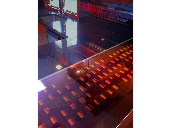 Art Glass Counter Top