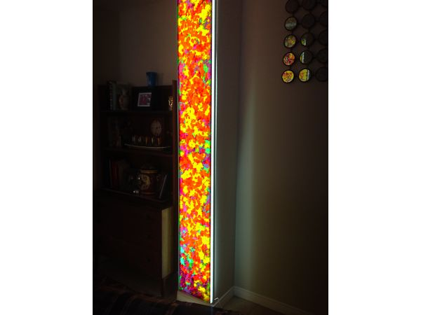 ILLUMINATED ARTGLASS PANELS