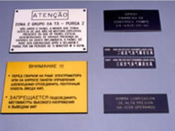 Engraved Plates & Panels