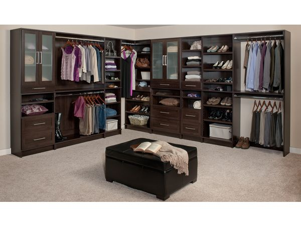 WoodTrac Closet Systems