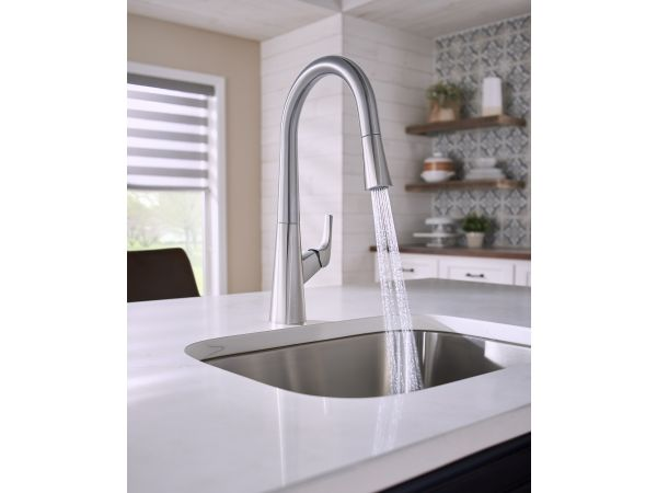 Vaughn™ Single Handle Pull-Down Kitchen Faucet