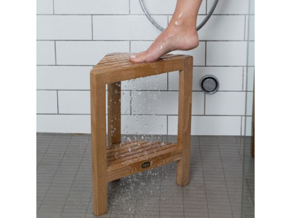 ARB Teak Shower Footrest