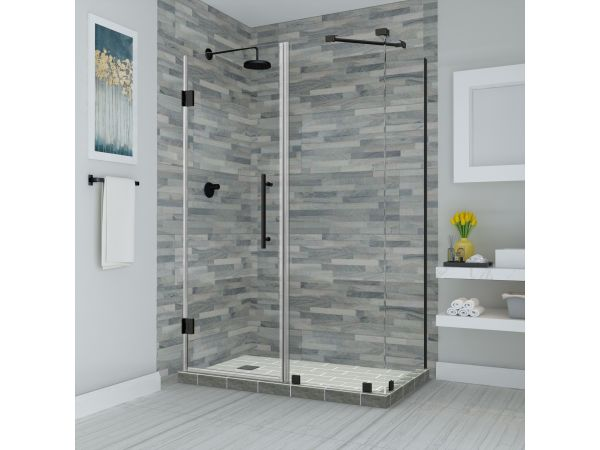 Aston Bromley Frameless Hinged Shower Enclosure