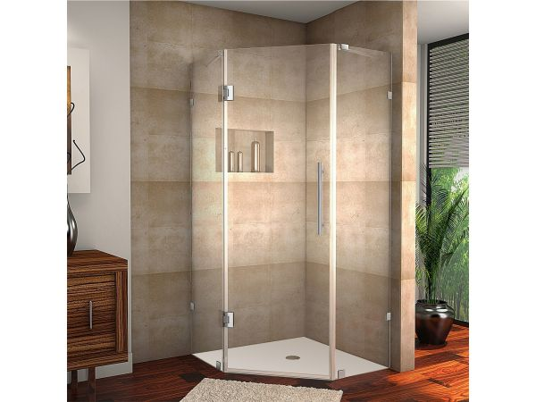 Aston Neoscape Completely Frameless Neo-Angle Shower Enclosure