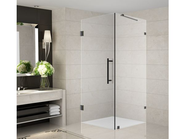 Aston Aquadica Completely Frameless Square Shower Enclosure