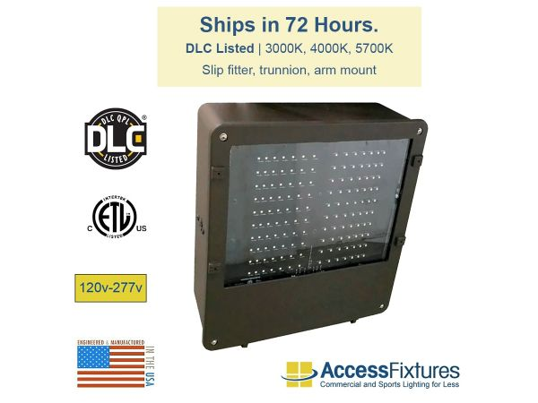 BOXE 221w LED Shoebox 120-277v – Ships in 72 Hours