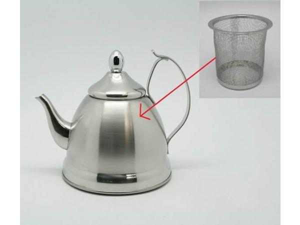 Nobili-Tea 1 Qt Stainless Steel Tea Kettle w/Infuser