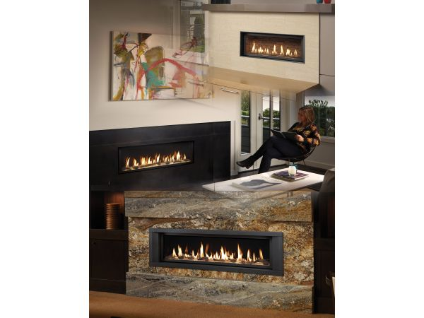 High Output Linear Gas Fireplace Line