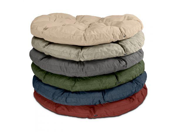 Montlake Water-Resistant 50 Inch Papasan Cushion, Heather Henna