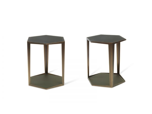 Gemma Hex Side Table