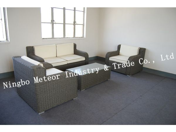 woven garden furniture rattan day bed