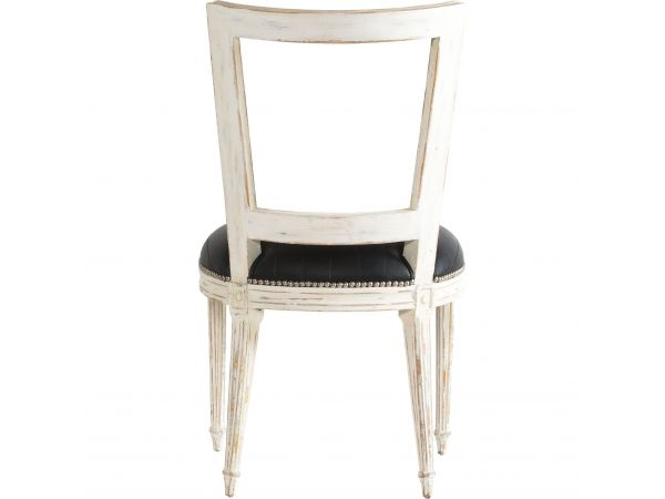 Marie-Antoinette Black Chair