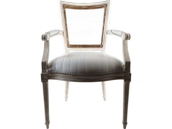 Marie-Antoinette White Arm Chair