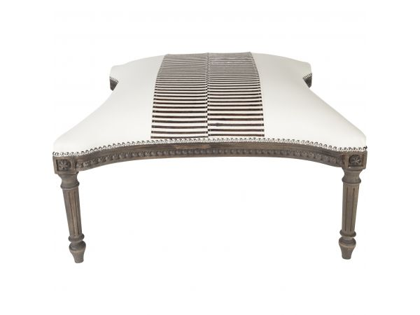 Madame Royale Zebra Bench