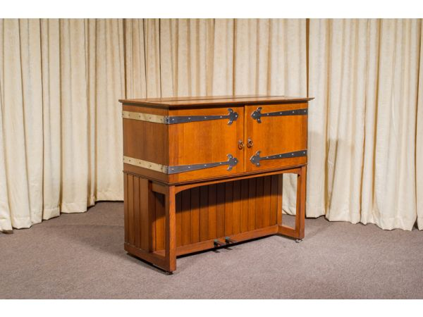 Antique Piano Shop's Broadwood Manxman Craftsman Upright Piano