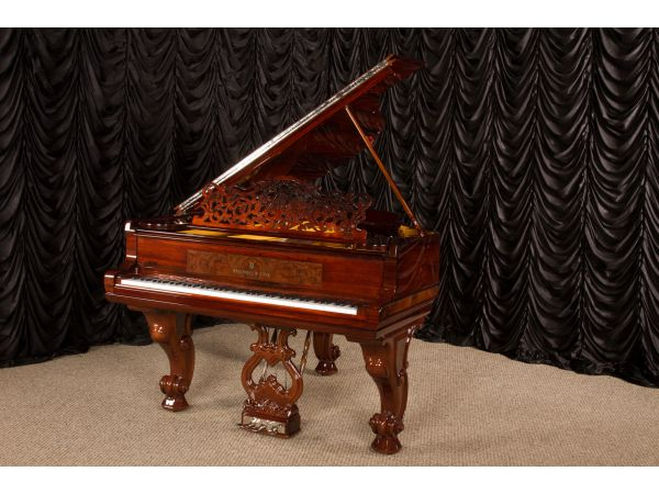 "Custom Built Steinway & Sons Rococo Style Model ""A"" Grand Piano"
