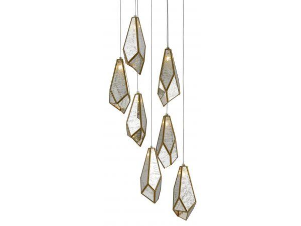 Glace 7-Light Multi-Drop Pendant