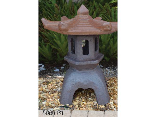 5060 - Set of 1 - 15D x 19H - Garden Temple