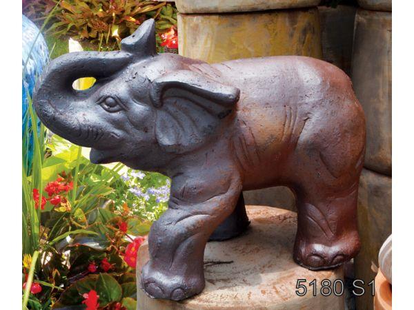 5180 - Set of 1 - 7W x 11L x 8H - Elephant