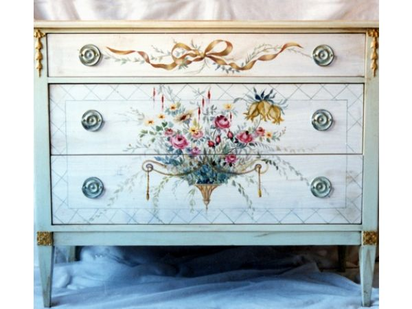 Decorated Chest of Drawers
