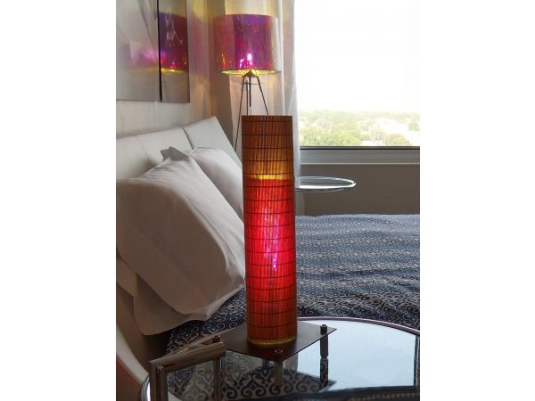 Dichroic Column Art Lighting