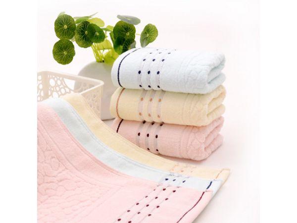china terry jacquard towel