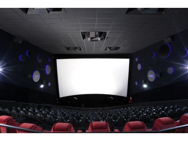 ROCKFON Cinema Black acoustic stone wool ceiling panels