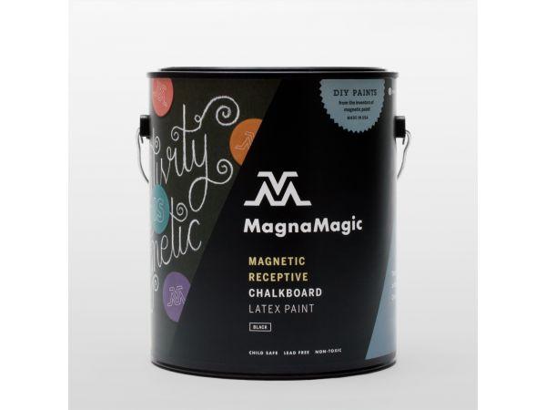 MagnaMagic Magnetic Receptive Chalkboard Paint