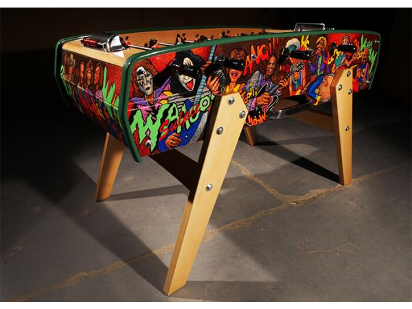 Rock\'n\'Roll Foosball Table