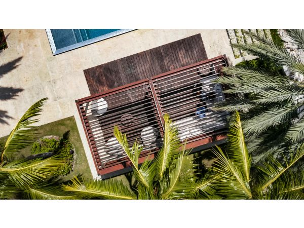 TUUCI Equinox Louvered Roof Cabana
