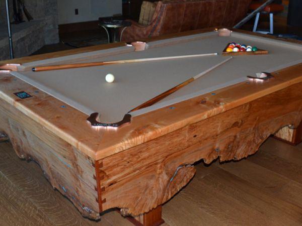 Custom Billiards Table