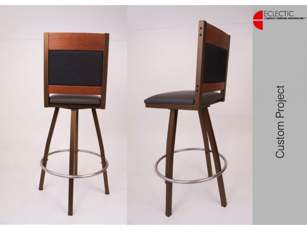 Sustainable Swivel barstool