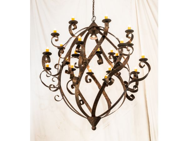 "2nd Ave Lighting to introduce 80"" Wide Caliope Chandelier"