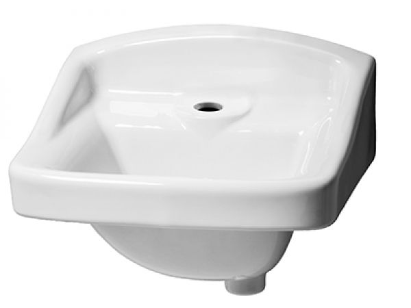 Monticello™ I Single Hole Wall Hung Commercial Hygenic Basin