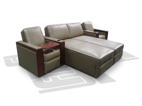 Hudson Lounger w/Motorized 1st Class Tray Table
