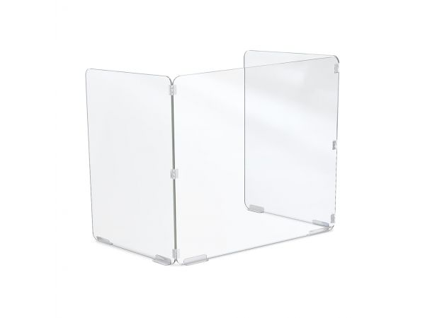 Trifold Acrylic Desktop Screen