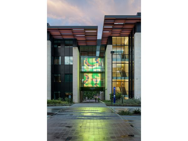 GKD Mediamesh® Bass Biology Building, Stanford University
