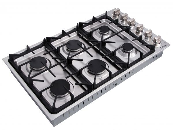 Professional Drop-In Gas Cooktop