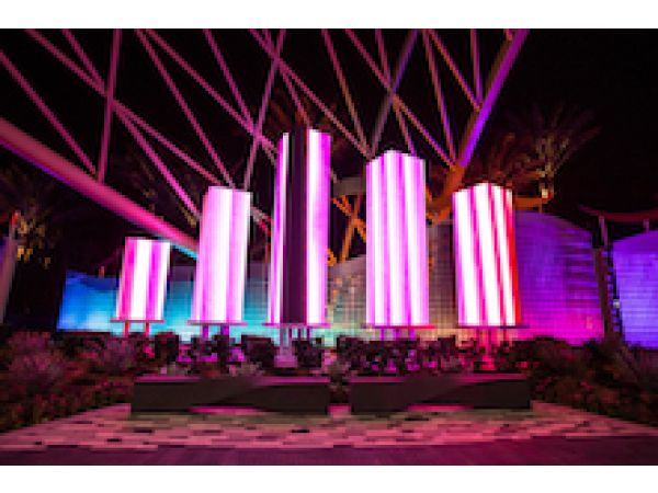 EXTECH\'s Wind-driven, Flapper-panel Walls Create Welcoming Entrance at Morongo Casino