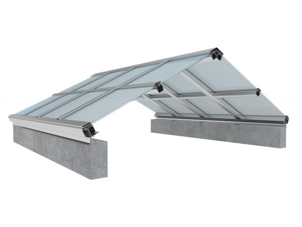 EXTECH\'s SKYGARD 3700 skylight spans large openings, including for industrial applications