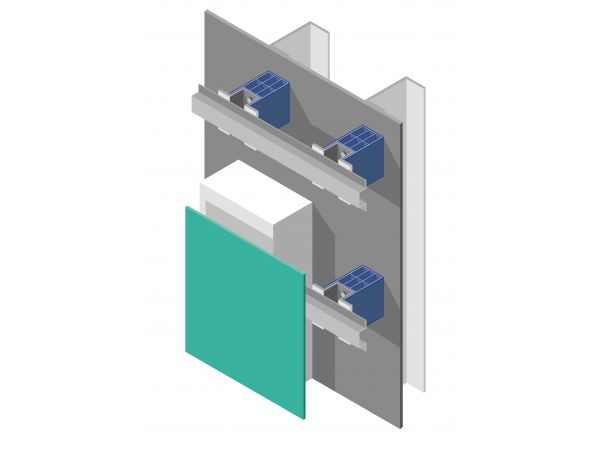 Technoform Thermal Isolator Clip Provides an Exterior Wall Cladding Solution for Buildings with Continuous Insulation