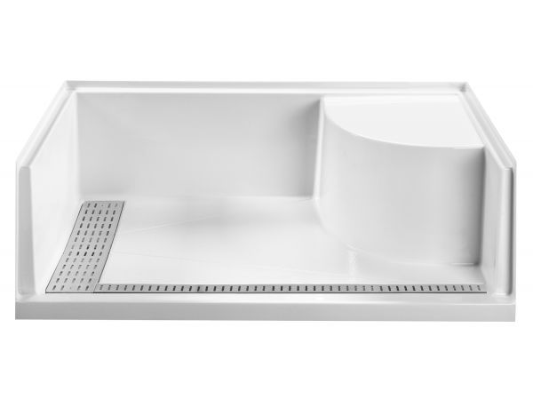 Barrier-Free Seated Shower Base