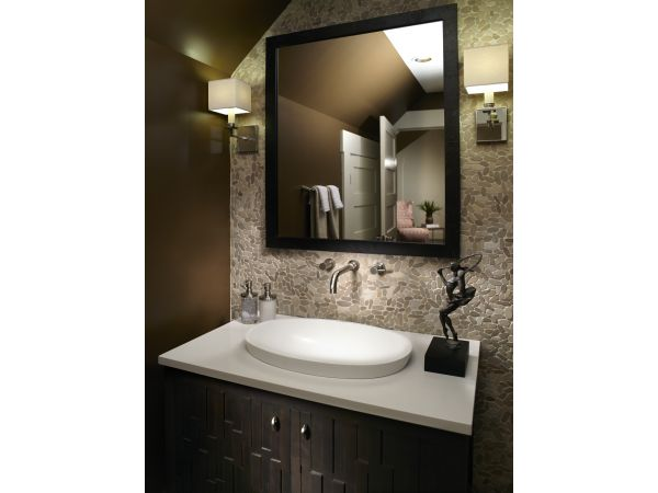 Alissa Semi-Recessed Lavatory Sink