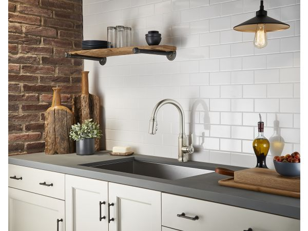 Breckenridge Pull-Down Kitchen Faucet
