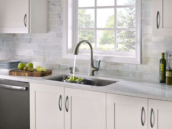 Pasadena Slate Pull-Down Kitchen Faucet
