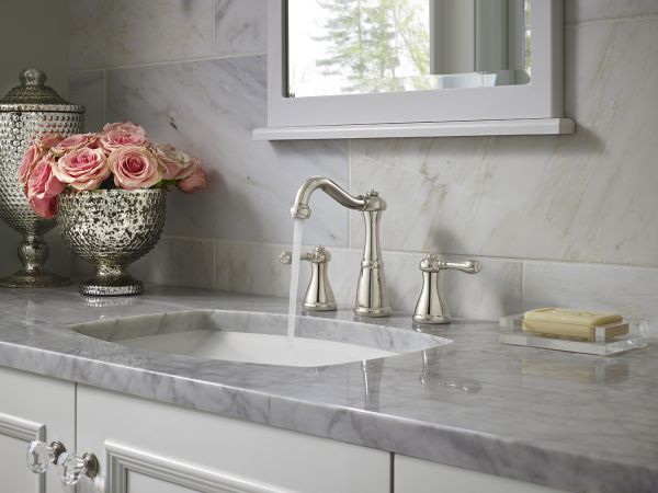 Marielle Polished Nickel Bath Faucet