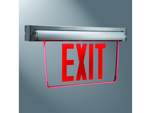 Sure-Lites Universal Edge-Lit Exit Sign