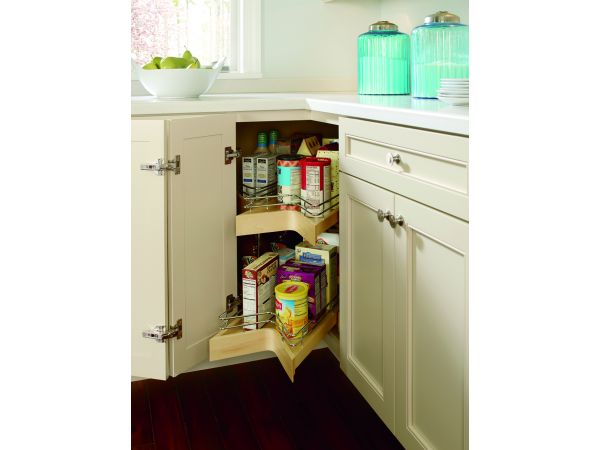 Diamond Cabinets Lazy Susan with Pullout