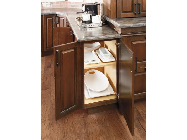 Diamond Cabinets Face Frame and Door-on-end option