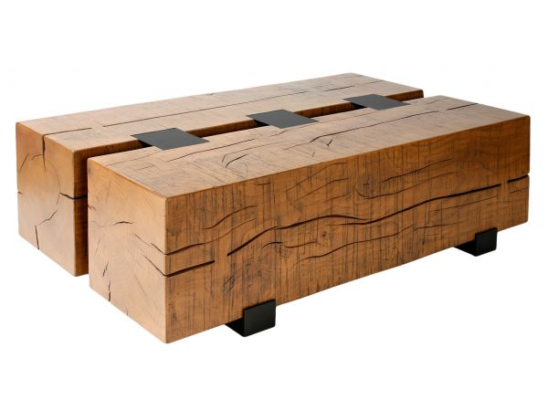 Two Timber Table